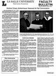 Faculty Bulletin: December 13, 1990
