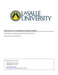 Guide to the Crew Team Reference collection by La Salle University Archives