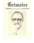 Grimoire Vol. 21 Spring 1991
