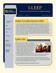 I-LEEP Newsletter Volume 1, Issue 1