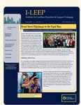 I-LEEP Newsletter Volume 2, Issue 1