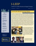I-LEEP Newsletter Volume 2, Issue 3 by Marjorie Allen PhD, Tara Carr-Lemke MA, Carly Cohen, Jack Downey PhD, Whitney Howell PhD, Heather McGee PhD, and Maureen O'Connell PhD