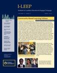 I-LEEP Newsletter Volume 2, Issue 3
