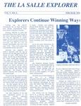 The La Salle Explorer, Vol. 5 No. 3