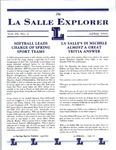 The La Salle Explorer, Vol. 9 No. 2 by La Salle University
