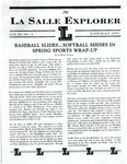 The La Salle Explorer, Vol. 9 No. 3