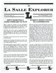The La Salle Explorer, Vol. 10 No. 2