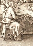 Adnotationes in Evangelia. Detail of Judas