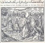 [Quatuor evangelia, arabice et latine] Detail