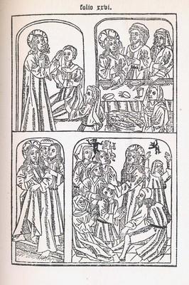 Biblia Pauperum. London, 1885