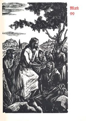 The Four Gospels of Matthew, Mark, Luke and John. New York [ca. 1950]
