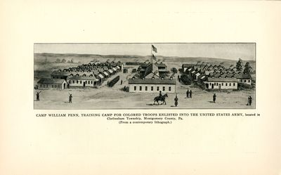 Camp William Penn, Training Camp for Colored Troops