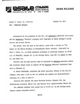 Press Releases - 1975 by La Salle University