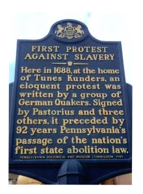 Slavery Protests And Slave Owners Philadelphia In The