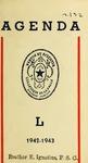 Agenda 1942-1943