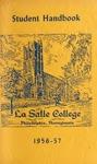 La Salle College Student Handbook 1956-1957