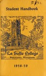 La Salle College Student Handbook 1958-1959