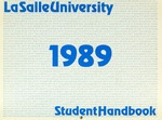 La Salle University Student Handbook 1989-1990 by La Salle University