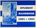 Student Handbook 1991-1992