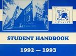 Student Handbook 1992-1993