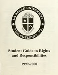 Student Guide to Rights and Responsibilities 1999-2000 by La Salle University