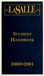 La Salle University Student Handbook 2000-2001 by La Salle University