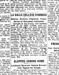 """""""La Salle College Changes"""""""