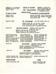 District of Baltimore 1952-1953 Assignments