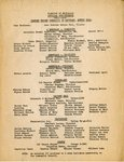District of Baltimore Official Appointments 1941-1942