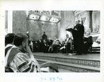 Brother Joseph Burke Gives a Speech at His Inauguration