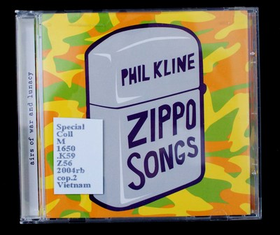Zippo songs [sound recording] : airs of war and lunacy.