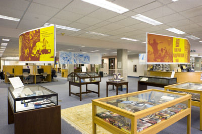 Library Exhibit Space #2