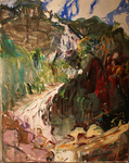 Vietnam Landscape, Silver Water Fall, Sapa by Jane Irish