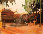 Vietnam Landscape, Tran Quoc Temple by Jane Irish